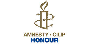 Amnesty CILIP Honour award logo