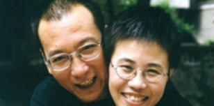 Liu Xia and her late husband Liu Xiaobo