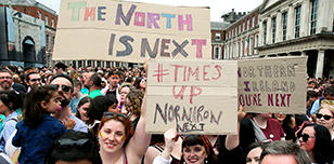 Northern Ireland abortion protest