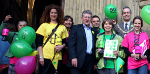 The Bath group celebrate Amnesty's 50th birthday