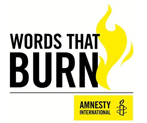 Words that Burn logo