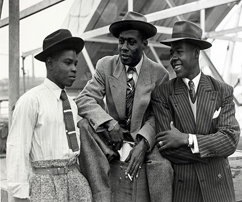 Three men from the Windrush generation