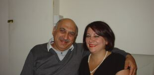 Anoosheh and his wife Sherry