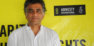 Our colleague at Amnesty India