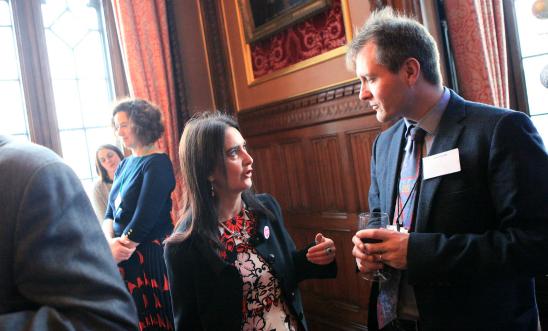 Margaret Ferrier MP talks to Richard Ratcliffe
