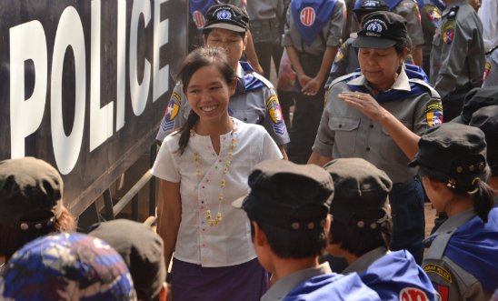 Phyoe Phyoe Aung, who featured in Write for Rights 2015