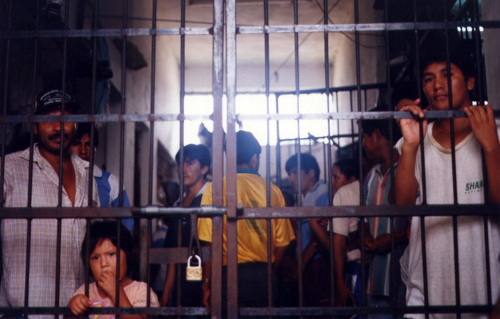 A prison in Bolivia's Chapari region © Naomi Westland