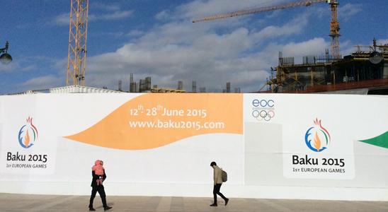 Baku building site C. Naomi Westland/Amnesty International