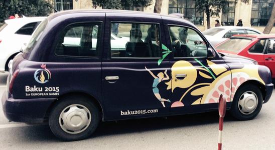 A taxi in Baku C. Naomi Westland/Amnesty International