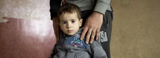 Syrian refugee child in Jordan © Amnesty International (Richard Burton)