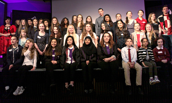 Winners of the 2014 Amnesty Youth Awards