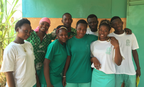 Amnesty youth leaders, Burkina Faso