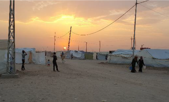 87,000 people fled fighting in Falluja and now shelter in sprawling camps