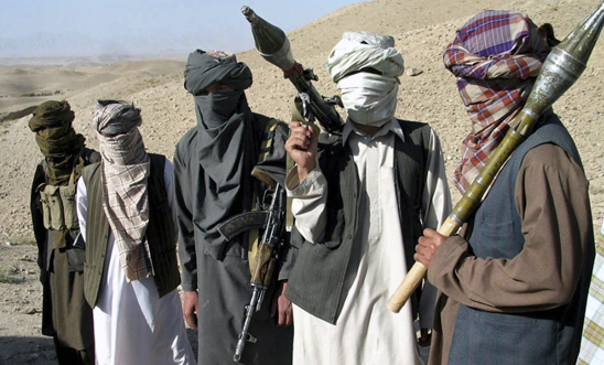 Taliban fighters in Afghanistan, 2006 © APGraphicsBank