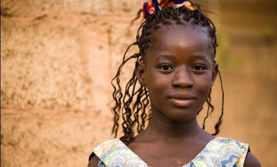 Young woman from Ouagadougou, Burkina Faso